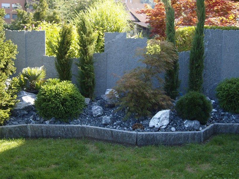 sichtschutz garten steinoptik - boisholz, Gartenarbeit ideen
