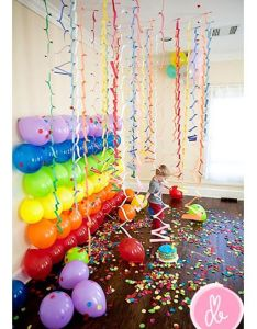 Teen Birthday Party Decorating Ideas Balloons On The Wall What Great Idea Also Rh