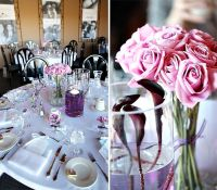 Purple Wedding Ideas For Tables | ... photos of a recent ...