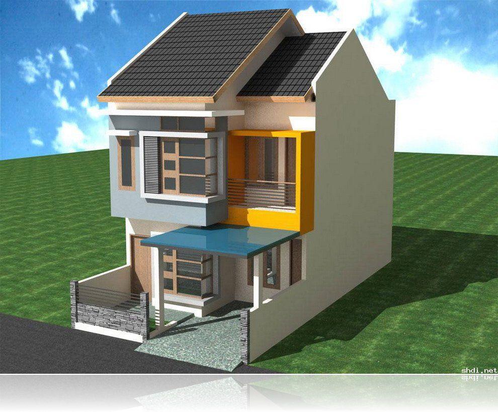 Two Floor Minimalist House Design Simple Home Design & Ideas