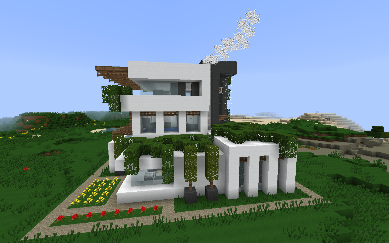 If You Like Modern Houses In Minecraft Like That You Gonna Have