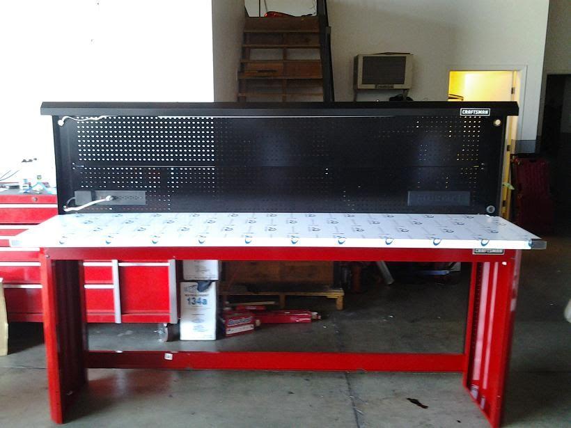Craftsman Work Bench 8 Feet Stainless Steel Top?