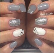 cable knit nails latest trend