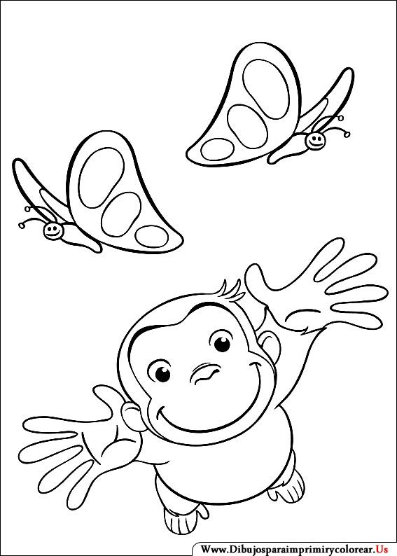 Learn How To Draw Curious George For Kids Curious George