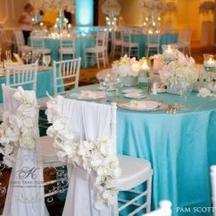 Diy Wedding Chair Covers Pinterest Blue Bean Bag Tiffany Reception Decorations Archives   Weddings Romantique Style ...