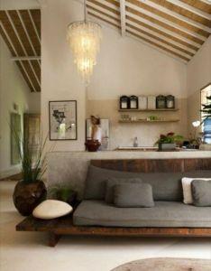 Deco salon joli de couleur taupe et avec une ambiance zen also rh za pinterest