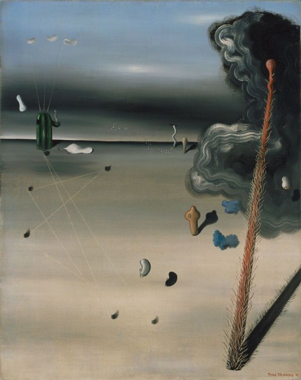 Surrealist Painter Yves Tanguy Born Day In 1900