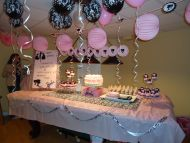 Barbie Pink Black and White Birthday Party