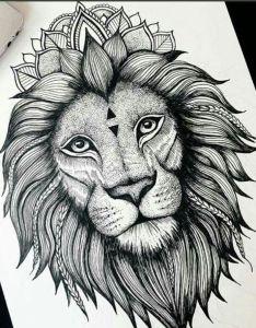 Lion Tattoo Designs Drawings Valoblogi Com