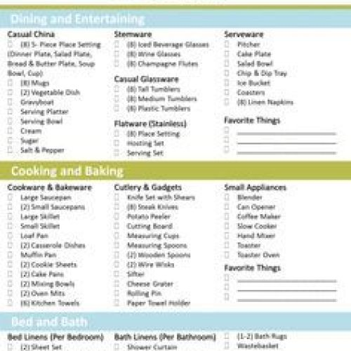 Crafting the Perfect Bridal Registry | Wedding Registry Checklist