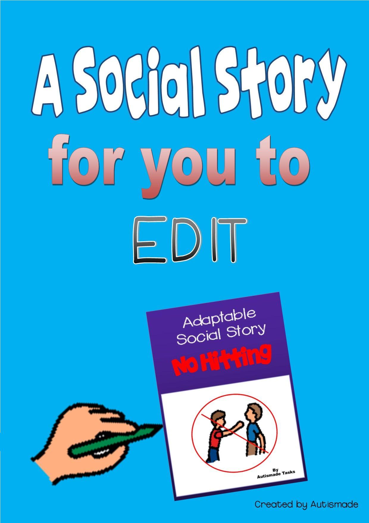 Editable Social Story