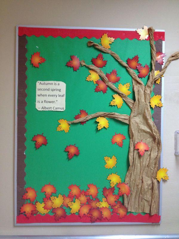Fall Bulletin Board Ideas for Nursing Homes