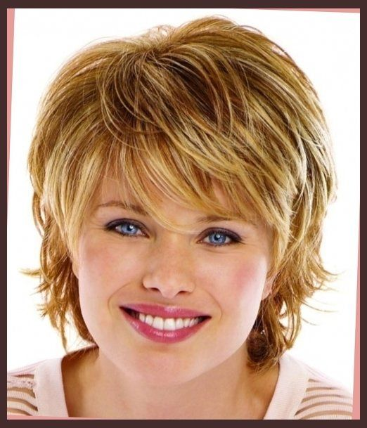 Short Hairstyles For Fat Faces And Double Chins Short Haircuts