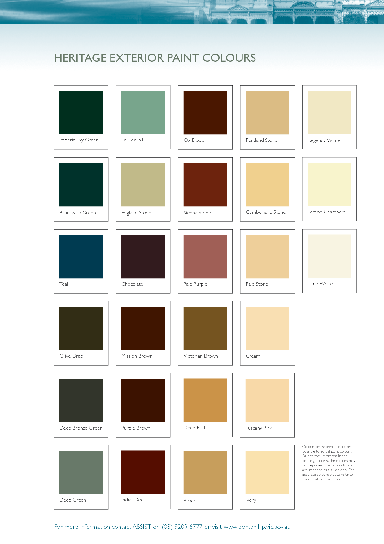 Heritage Exterior Paint Colours For My Cottage