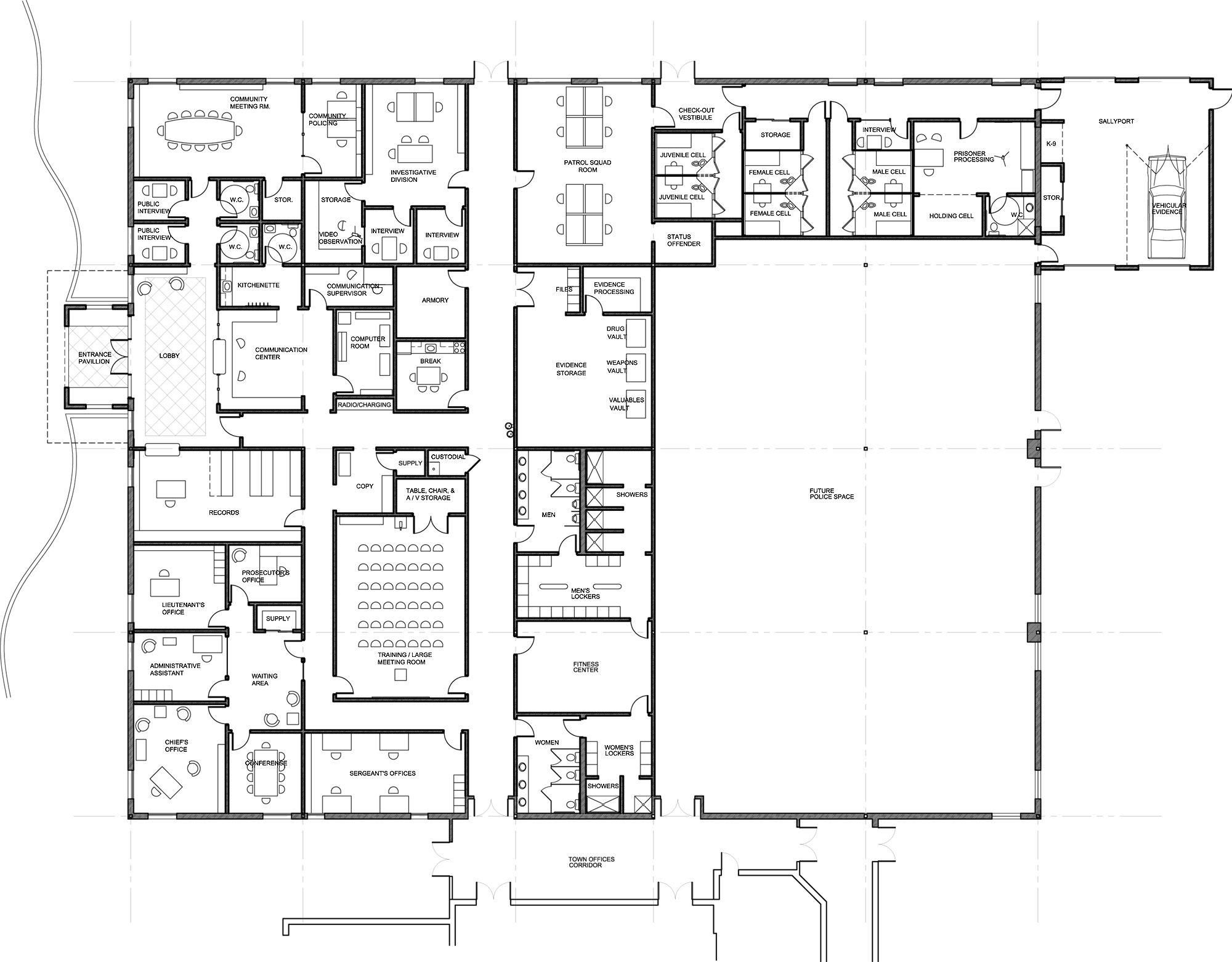 Astonishing Floor Plans Blueprints On Floor With Home