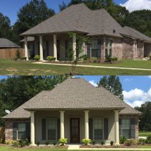 Acadian Style Home 1600 Sq Ft House Plan Mortar