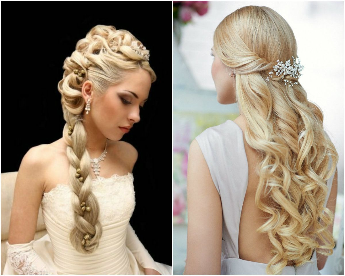 5 Beads Adorned Side Braid Princess Hair Style Long Hair Are
