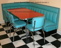 Retro Diner Booths   booths and banquettes for residence ...