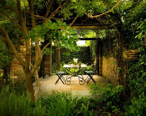 Nice Ideas For Covered Secret Garden Patio Decorating Best Patio