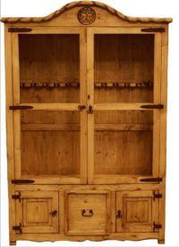 Wood Star Gun Cabinet! www.rhinestonesNrodeo.com we need