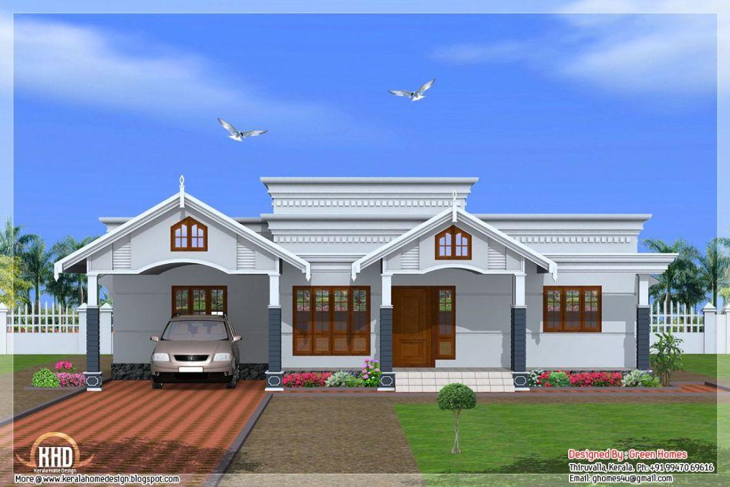 House 4 Bedroom Single Floor Kerala