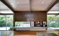 mid century modern fireplace - Google Search | fireplace ...