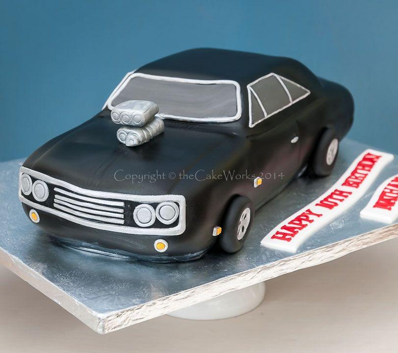 Vintage Grooms Cake