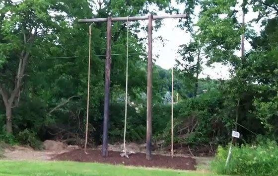 Back Yard Exercise Equipment