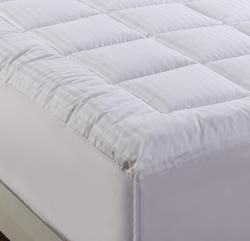 Damask Stripe Pillowtop 500 Thread Count Twin Xl Full Size Mattress Pad