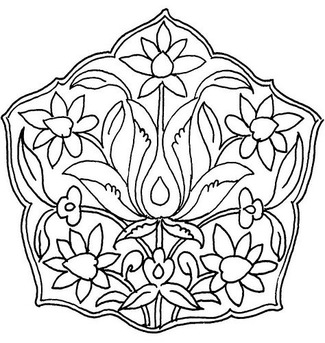 Persian Designs and Motifs 4 by neefer, via Flickr