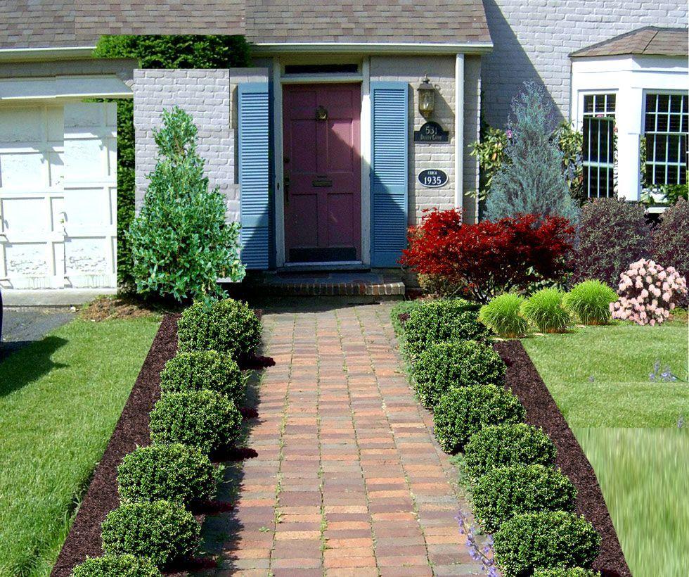 Front Garden Designs And Ideas P P2frontbefore2 Garden