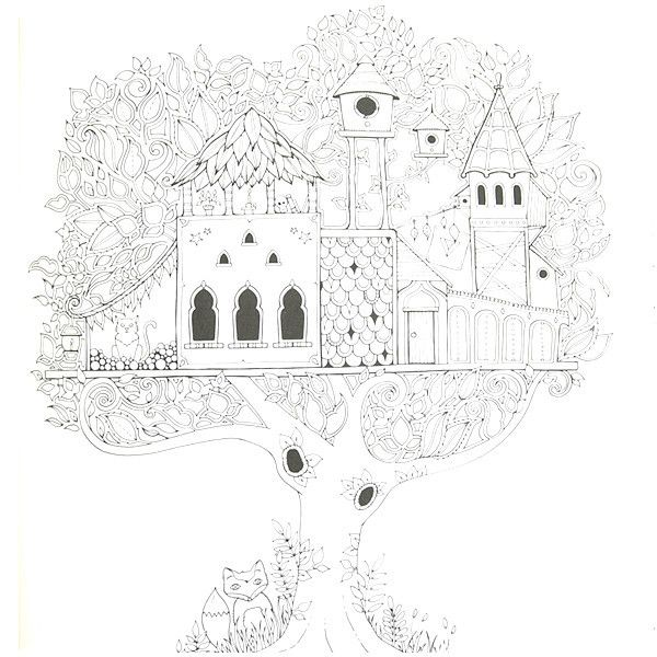 enchanted forest coloring bookjohanna basford