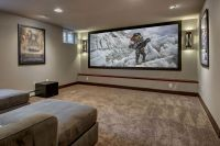 23 Basement Home Theater Design Ideas For Entertainment ...