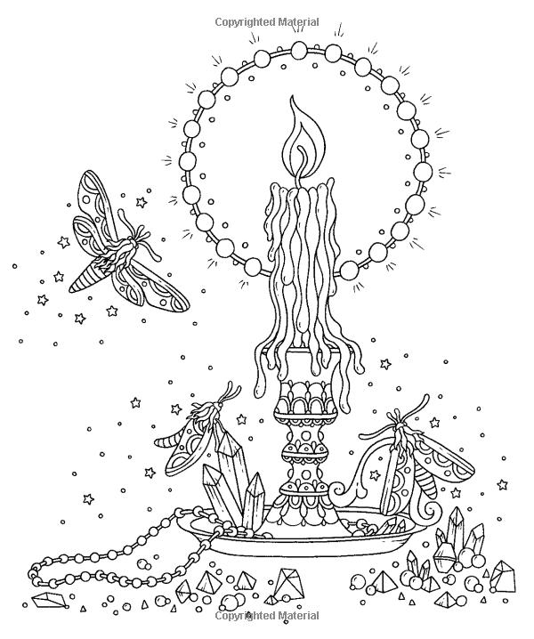 swedish santa lucia coloring page
