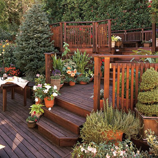 Tips For Taming A Slope Gardens Decks And Backyards