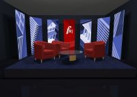 set design tv - Buscar con Google | Set TED Individual ...