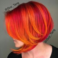 Guy Tang fire hair. My next goal. #hair #dye #fire ...