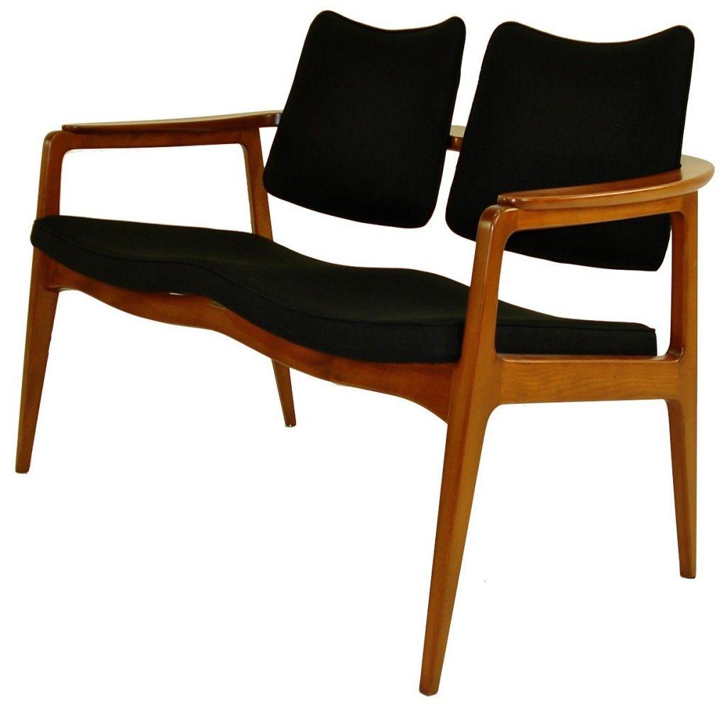 chair design parameters folding gumtree beech settee by prince sigvard bernadotte and made