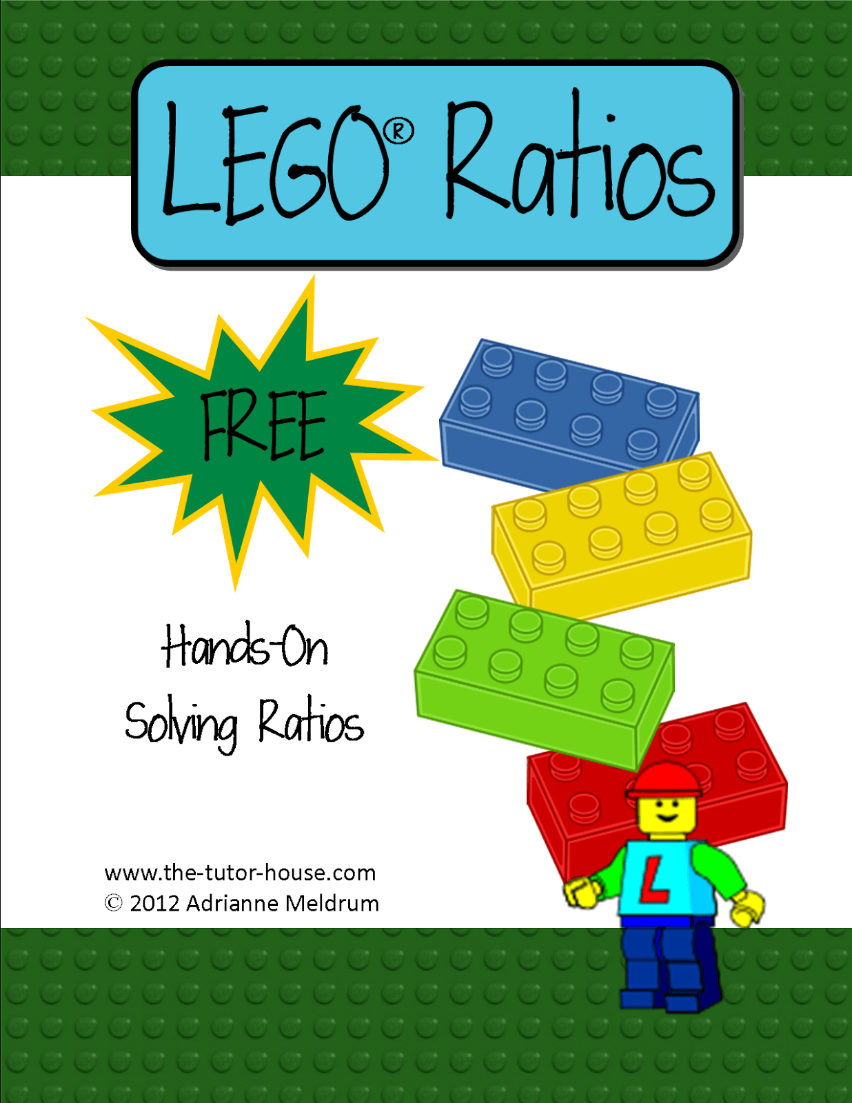I Love Using Lego S To Teach Math Come Get This Freebie About Ratios