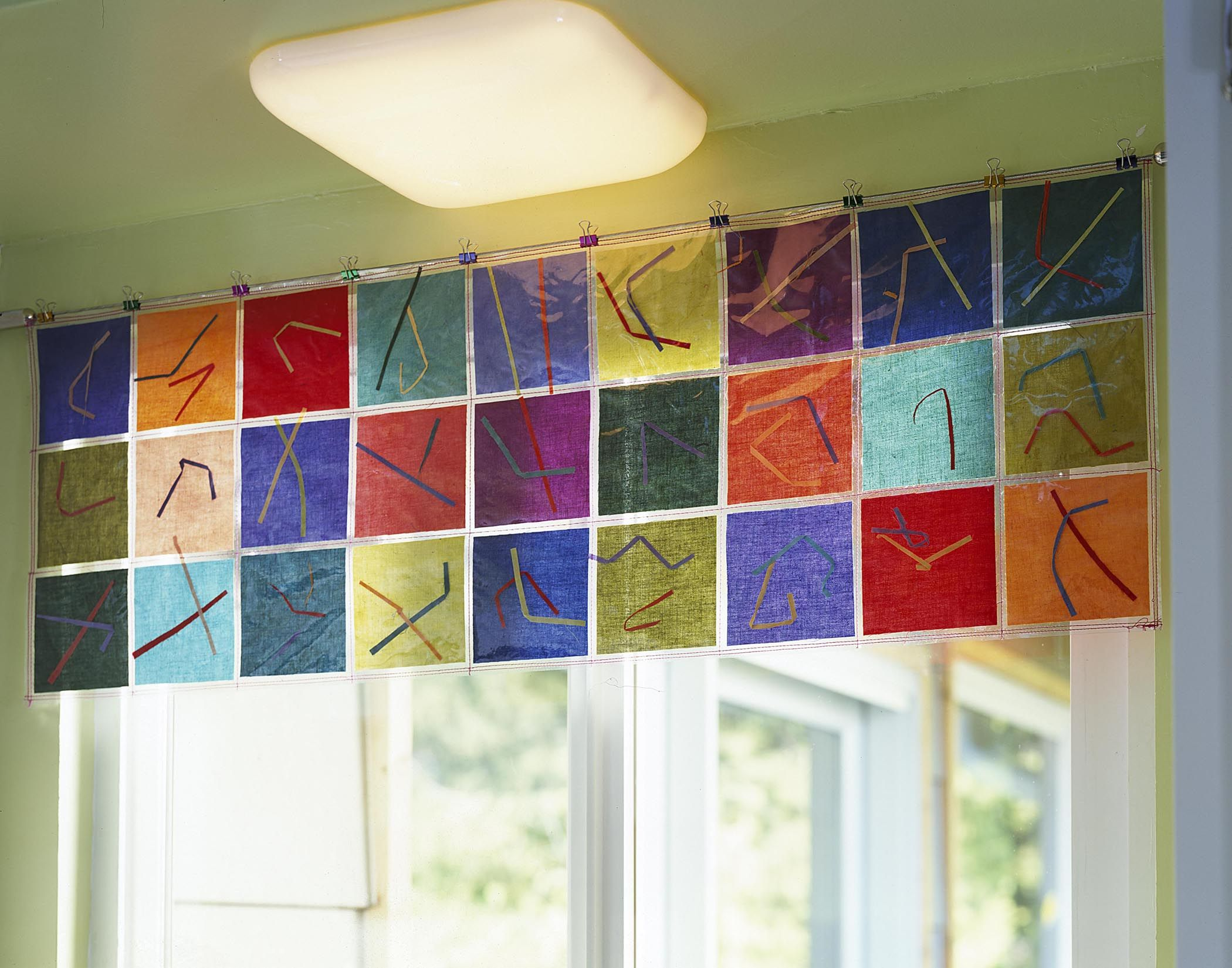 Valances For Windows In Classroom
