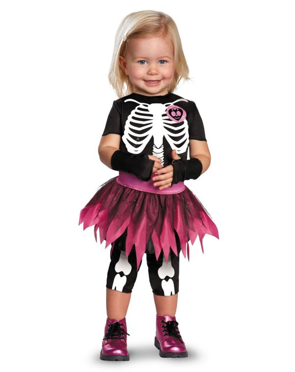 Toddler Skeleton Halloween Costume