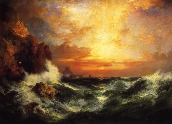Thomas Moran. Realism In Rely