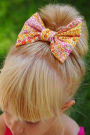 sew hair bows bow