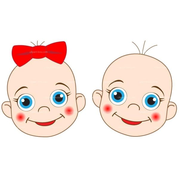 Clipart Babies Faces Royalty Free Vector Design Baby