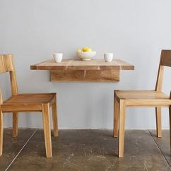 Small Space Kitchen Table Long Tables Wall Fold Away Dining For Spaces