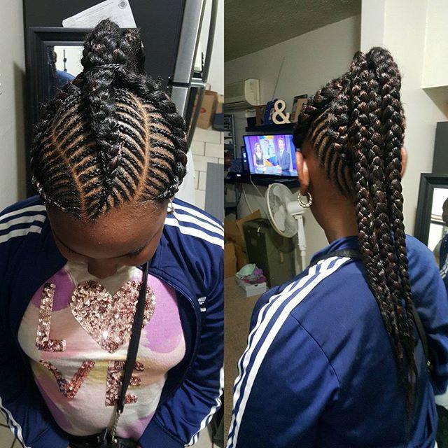 Latest Ghana Weaving Hairstyles 1 Maboplus Com Ladies