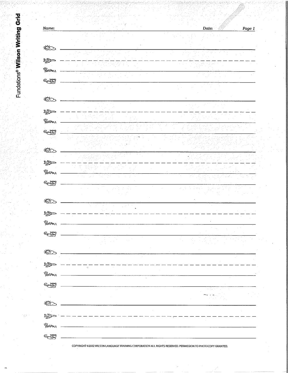 medium resolution of Fundations Letter Bonus Worksheets   Printable Worksheets and Activities  for Teachers