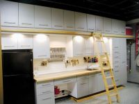 Custom Garage Storage Cabinets and Slat Wall Storage ...