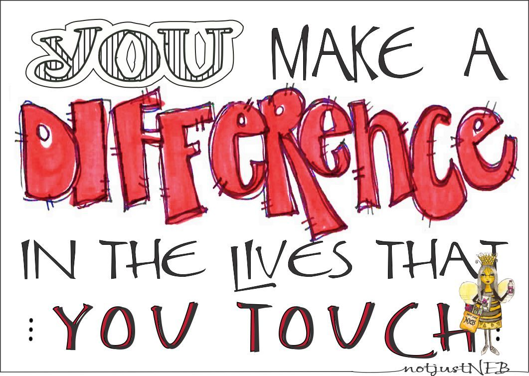 Making A Difference Quotes A Make Clip Art Difference Quotes Images Picture