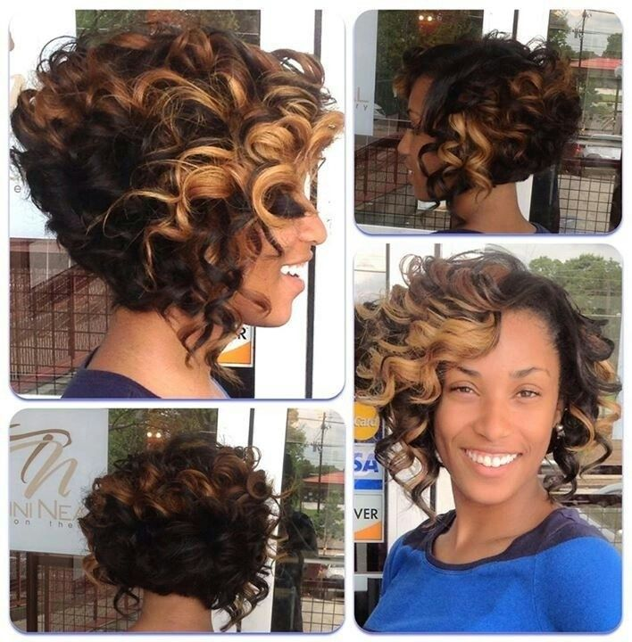 12 Fabulous Short Hairstyles For Black Women Bobs Hairstyles